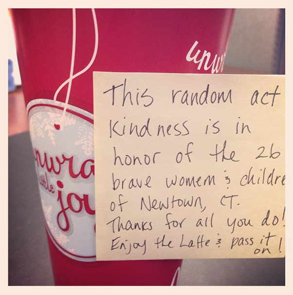 #26Acts. Coffee Kindness.