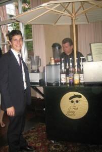 Coffee and hot chocolate bars are big hits at Bar Mitzvahs