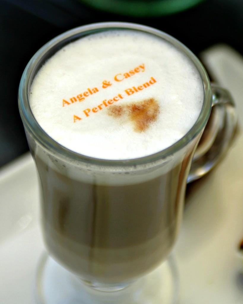 Espresso Dave Beverage Topper Wedding Coffee Summer