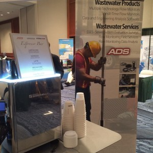 Blizzard shmizzard! We're serving up cups of hot goodness at the #NEWEA show at the #bostoncopleymarriott. Our clients know how to treat their customers right in all kinds of weather. #adsenvironmental #blizzard2015 #juno #espressodavecoffeecatering #coffeecateringboston #winterbringit