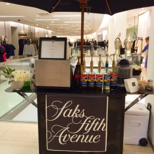 Shop 'til you drop fueled by @espresso_dave! #saksfifthaveboston #saks #espressocateringboston