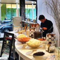 Hot Chocolate Bar Boston Financial District Espresso Dave Coffee Catering