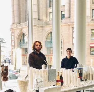 Dynamic Duo Espresso Dave Coffee Catering Tenant Appreciation Boston