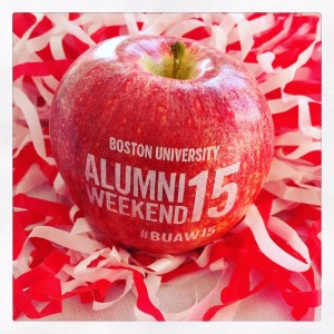 Fun to Eat Fruit Boston University Alumni Reunion