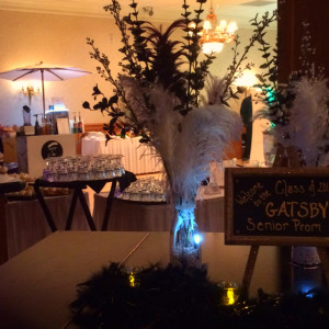 Great Gatsby Senior Prom Coffee Bar by Espresso Dave