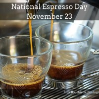 For Espresso Dave Everyday is Natiional Espresso Day!