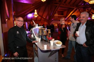 Espresso Dave serving at The Perfect Reception