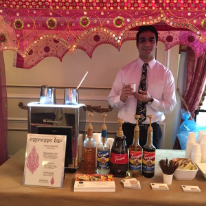 Espresso Dave's offers espresso coffee bars for Indian and Fusion Weddings Boston New England