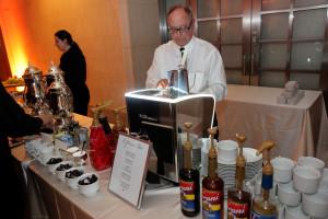 Espresso Dave creating the smoothest espresso shot ever!