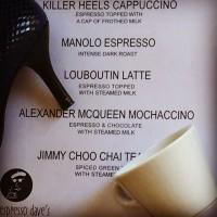Currier Museum Killer Hills Menu Espresso Dave Coffee Catering