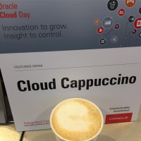 Oracle Day in Boston with Espresso Dave Coffee Catering