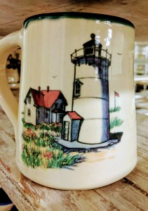 Custom mugs for your event by Great Bay Pottery