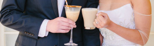 Cheers! Hot or frozen espresso based drinks at your wedding! Boston's Espresso Dave Coffee Catering