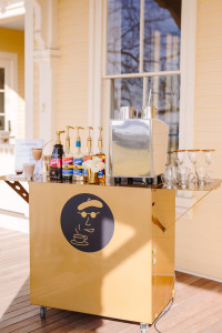 The Newport Bride's Yes Way Rose Styled Shoot with Espresso Dave's Coffee Catering