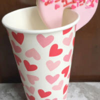 Valentine's Cookie Topper Heart Bakers Rack