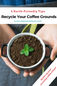 Green your morning coffee ritual. Boston's Espresso Dave Coffee Catering shares 4 easy ways to recycle your coffee grounds! Also, ready about their Green Initiatives for events and weddings. www.espressodave.com