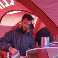 Espresso Dave's Coffee Catering Head of the Charles Clif Bar Tent Boston