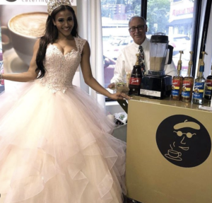 Espresso Dave's Coffee Catering with royalty! Boston Special Events