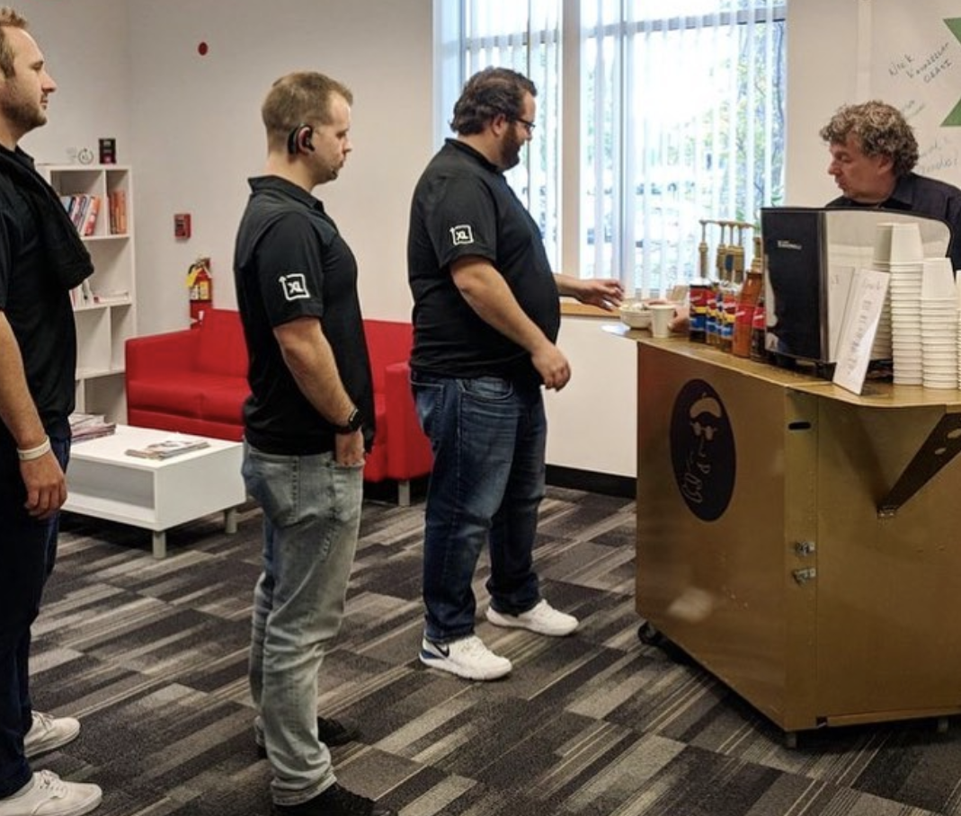 Why should employers offer great coffee at work? Learn the perks behind this hot commodity from Boston's Espresso Dave's Coffee Catering. www.espressodave.com #employeeappreciation #perks #coffee #staffmoraleboosteroffices #staffmoralebooster #coffeecatering #boston