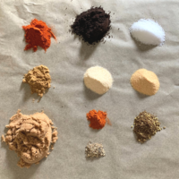 Coffee dry rub spices png