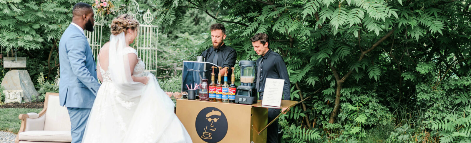 Boston's Espresso Dave Coffee Catering perfect for microweddings & minimonies. PC: Rachel Campbell Photography