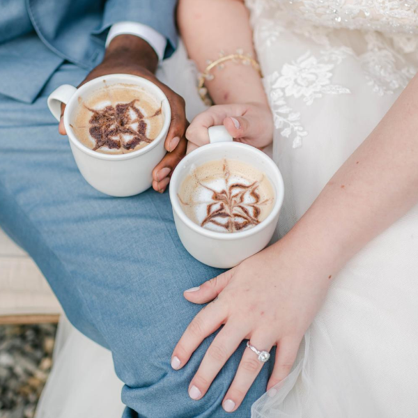 Getting married and love great coffee? Read the latest from Boston's Espresso Dave Coffee Catering about creating a magical rustic summer micro wedding! www.espressodave.com Photo: Rachel Campbell Photography.