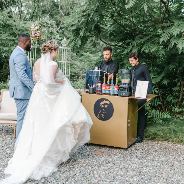 Boston's premiere coffee caterer, Espresso Dave, shares a magical, rustic summer micro wedding in Maine. Click on the link! www.espressodave.com Photo: Rachel Campbell Photography.