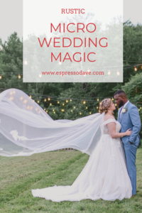 Looking for ideas to create your rustic barn summer micro wedding? Click to see how Boston's Espresso Dave added magic to this couple's amazing micro wedding in Maine! www.espressodave.com Photo: Rachel Campbell Photography